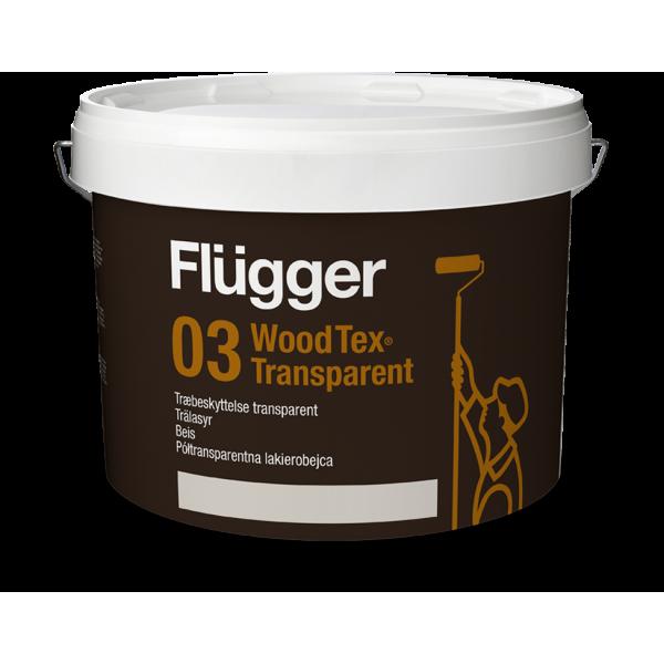 Flugger Woodtex 05  /   Флюгер водоразтворим лак 2,8л.
