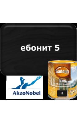 Sadolin Extra   /  Садолин  Екстра - 0,75л. ебонит 5