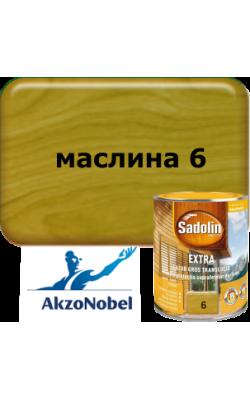 Sadolin Extra   /  Садолин  Екстра - 0,75л. маслина 6