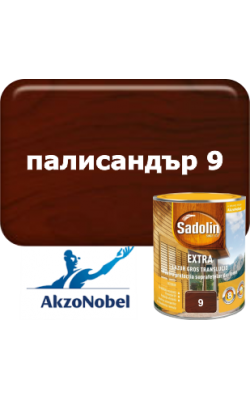 Sadolin Extra   /  Садолин  Екстра - 2,5л. палисандър 9